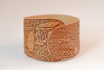 birch bark bracelets / by Nammu -