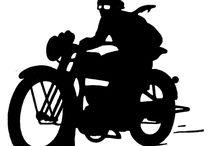 motos siluetas