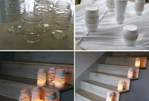 Candle ideas / Variety of decorations for inspiration