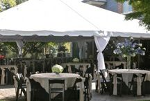 Wedding Tents / Here are some of our wedding tents that we rent out in Northern Kentucky and Greater Cincinnati Ohio.