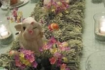 Easter center table