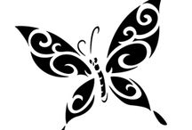 Arts & Crafts: Bee, Butterfly, Ladybugs & Wings Templates 1