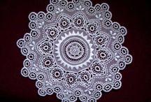 Hungarian needlelace - koronka węgierska igiełkowa