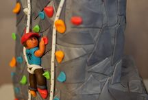 Rock Climbing Cakes / Amazing rock climbing inspired cakes! Yum!