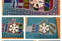 Arts plastiques hiver