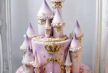 замок торт