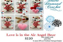 Valentine's Day 2016 / All the awesome things I make that are available for Valentine's Day photo sessions, fun, and gifts!  Use coupon code:  LEX-PIN  Receive 20% off your finished item order through 31 January 2016:   http://www.ddcrochet.com  Receive 15% off your Pattern purchase through 31 January 2016:  http://www.ravelry.com/stores/desert-diamond-crochet