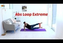 Pilates with loop bands