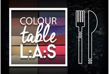 COLOUR TABLE L.A.S. / Following with interest Expo2015, we have found out curious analogies between deisgn and food. Find out more in the tasty colour palette of #laserartstyle: food and colour to make your mouth watering!