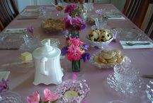Tea Parties and Tables