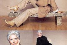 Стиль Мода / Одежда женщины за 50