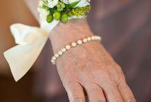 Bruiloft polscorsage armcorsage wedding