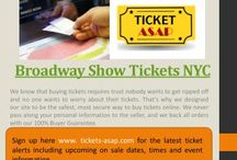 Broadway Show Tickets NYC / Visit this site http://www.tickets-asap.com/theatre/ for more information on Broadway Show Tickets NYC. Broadway Show Tickets NYC are not produced in mass production. They produce just a number of tickets to see how the turnout will be and then from there they can produce larger quantities. You will not only enjoy the show but you will be left with something to remember for a long time to come.