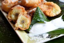 Coconut fried banana
