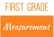 First Grade: Measurement / This board contains resources for Texas TEKS: 1.7A, 1.7B, 1.7C, 1.7D