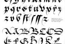 Calligraphie initiation
