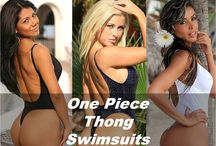 One Piece Thong Swimsuits / One Piece Thong Swimsuits Show off your best assets while enjoying the incredible slimming effects of a one piece thong swimsuit. You will love the feel when you slip into one of these breathtaking incredibly sexy swimwear designs but more important you will absolutely love the way you look in one of these stunning one piece thong swimsuits #onepiecethongswimsuits #onepiecethongs