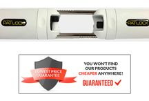 Patlock / Patlock, the most secure way to protect the French Doors in your home from unwanted intruders