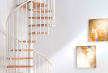 Mezzanine and Spiral Stairs