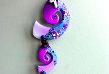 Necklace / Polymer clay