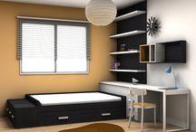Habitaciones de clientes / Proyectos de nuestros distribuidores para sus clientes.
