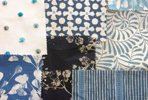 Summer Fabric Moodboards / Samples of summery fabrics we currently have in Chi