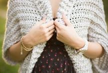 crochet shrugs/tops
