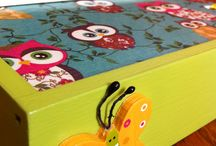 DecuDream for Kids! / Decoupage boxes for Kids :)