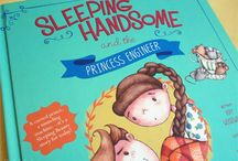 Picture Book Study: Sleeping Handsome and the Princess Engineer by Kay Woodward and Jo de Ruiter