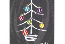 χριστουγεννα σε μαυροπινακα