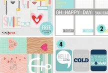 Project Life printables/Ideas