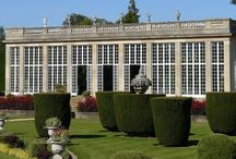 English Orangeries / The 18th century orangery was found in many country houses in England and was used as a hot house to grow plants that would not thrive in England's harsh winters.