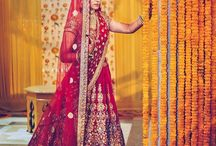 Indian bridal dressing