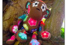 African Flower Power / I ❤️ African Flower Crochet!