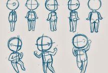 Desenho Chibi