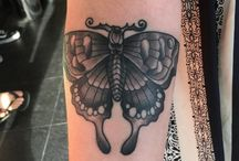 Butterfly Tattoos / Butterfly tattoo has been the most preferred body art of thousands of people in the entire world. http://fabulousdesign.net/attractive-butterfly-tattoos/