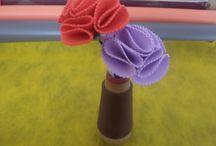 Flores de EVA -  Flores e Flores / LINDaS DE MAIS!