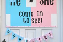 Gender Reveal Party / by Carole Beadle