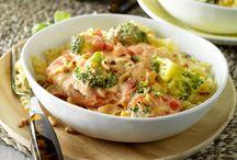warme maaltijd pasta's