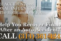 St. Louis Injury Lawyer / The Hoffmann Law Firm, L.L.C. has been representing car accident and personal injury victims in Missouri and Illinois for over 15 years!