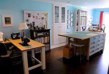Craft workspace ideas