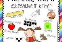 Classroom Kindergarten / by Caitlin Riley Juarez