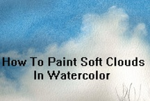 Art~Watercolors / by Laura Plyler @ TheQueenofBooks