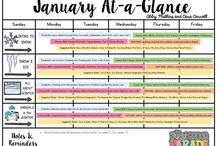 Lesson planning templates / by Alaina Marie