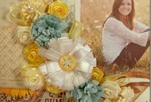 Paper Love: using ribbon stash