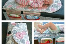 Diy travel diaper changing mat