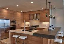 Cocinasmoderna de madera