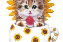 tasse avec chats
