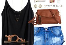jeans+shorts outfits