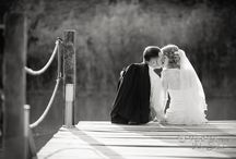 WEDDING PHOTOGRAPHY / Wedding portraits bride and groom.